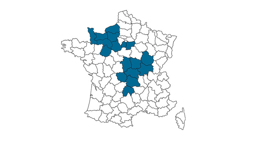 contact person, customer service, profile and map, Benedicte Brosse, rockfon, france, FR