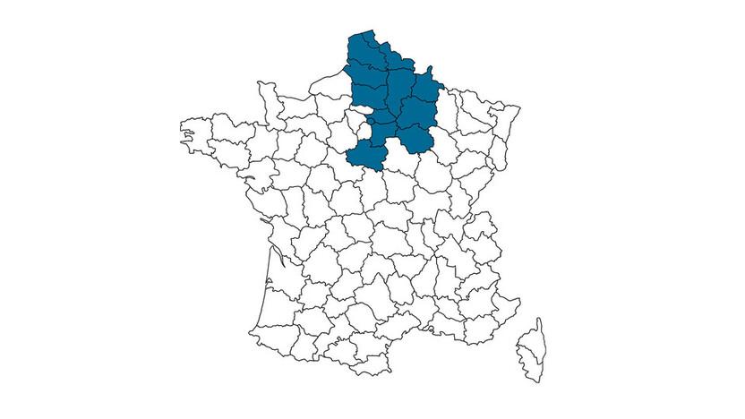 contact person, customer service, profile and map, Magali Abadia, rockfon, france, FR