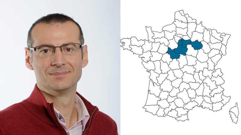 contact person, sales, profile and map, Laurent Behuel, rockfon, france, FR