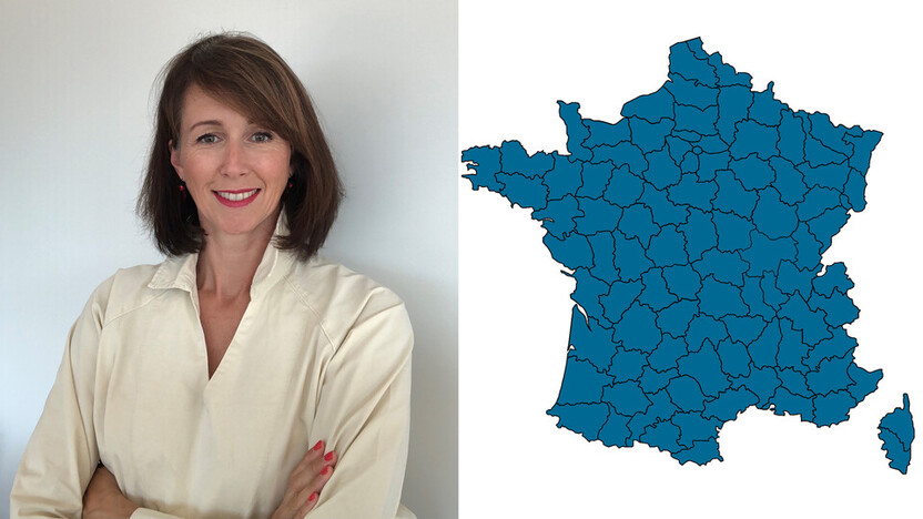 contact person, sales, key account manager, profile and map, Thierry Brouteele, rockfon, france, FR