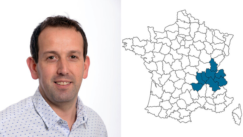 contact person, specification, profile and map, Thierry Garnier, rockfon, france, FR