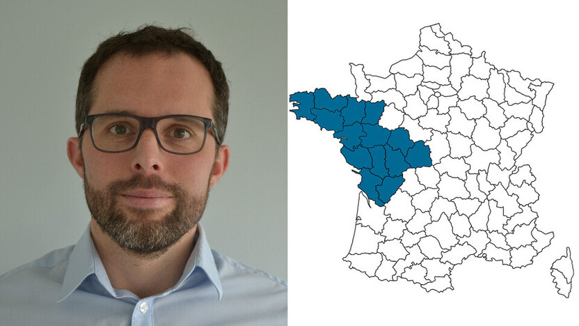 contact person, specification, profile and map, Pierre Bescond, rockfon, france, FR