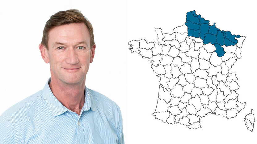 contact person, specification, profile and map, Ludovic Dewez, rockfon, france, FR