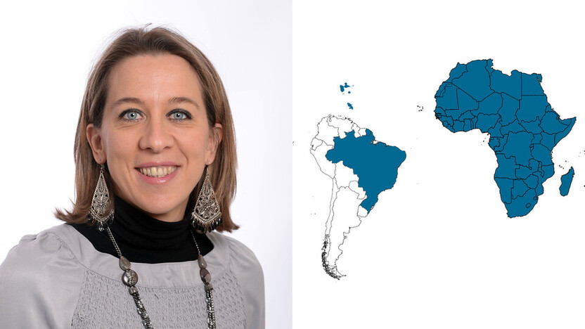 contact person, export sales, profile and map, Stephanie Mougin, rockfon, france, FR