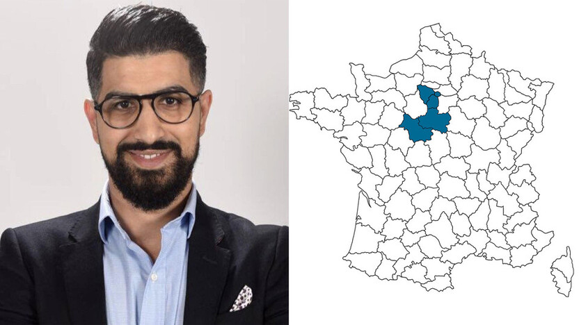 contact person, specification, profile and map, Mohamed Kacemi, rockfon, france, FR