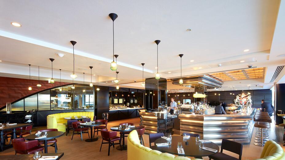 Mondrian Hotel, UK, South bank, London, Design Research Studio with Tom Dixon, Mondrian Hotel - Morgans Group, Panarc Interior Solutions, Tom Dixon, Peter Smith - Newbury Smith Photography, Mono, White